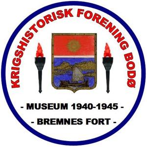 Logoen til KRIGSHISTORISK FORENING BODØ