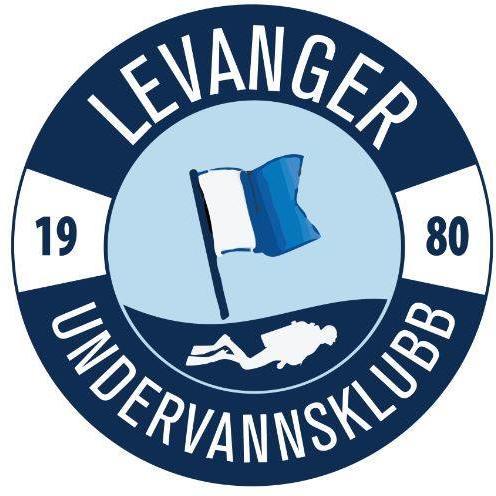 Logoen til LEVANGER UNDERVANNSKLUBB