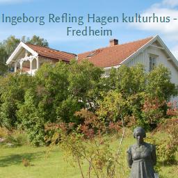 Logoen til INGEBORG REFLING HAGEN KULTURHUS - FREDHEIM